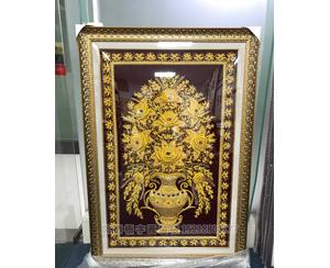 广州琶州 迪拜铜线画 金属铜线画装裱框