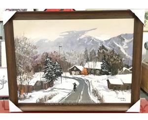 广州市 油画 绷画装裱画框